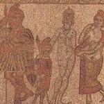 Enea, Ascanio, Venere e Didone