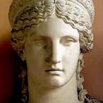 """La dea Giunone (""""Era"""" per i greci)"""
