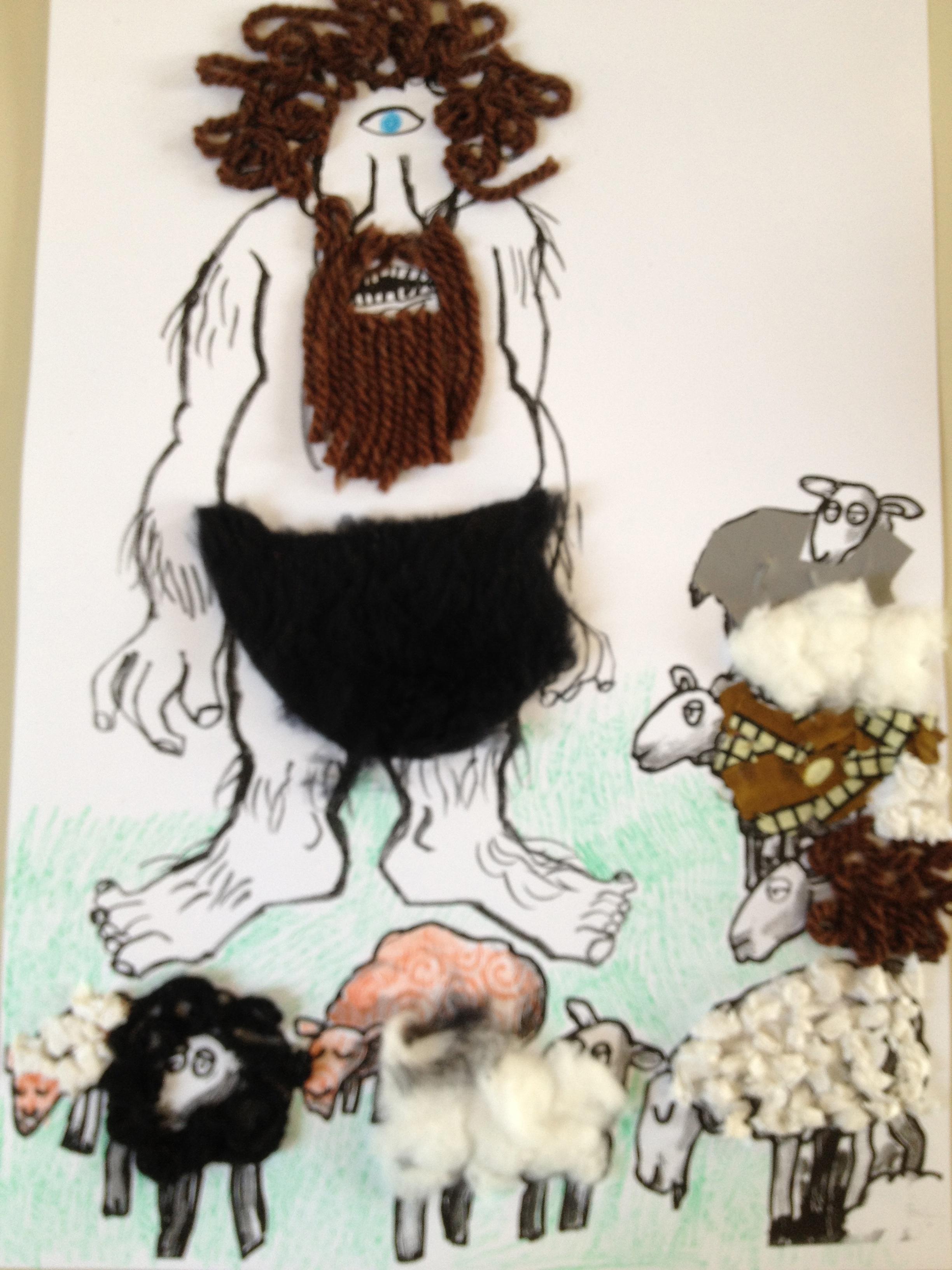 Il ciclope e le sue pecore