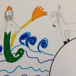 Poseidone e il toro bianco